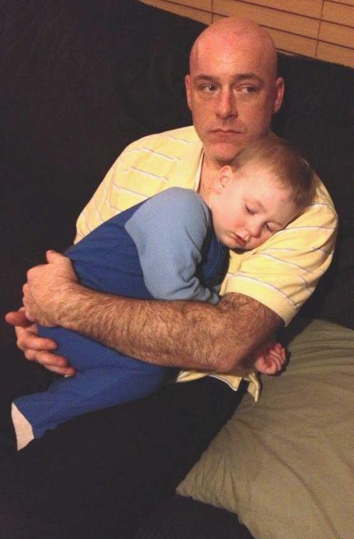 Cade & daddy