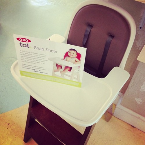 OXO Tot Sprout Chair & Snap Shots