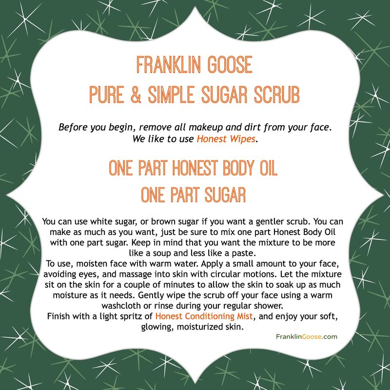 Pure & Simple Sugar Scrub