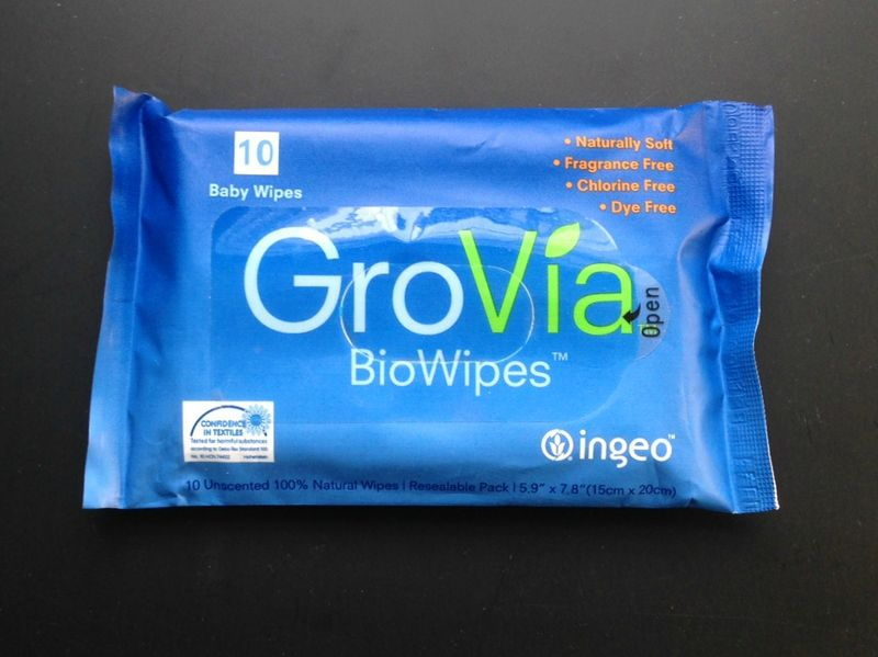 Grovia wipes